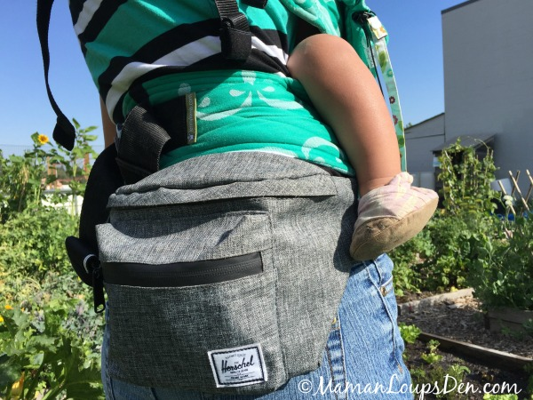 Hip Pack at the Garden