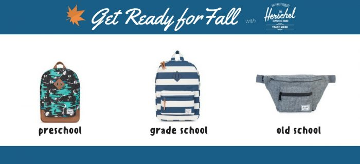 Get Ready for Fall with Herschel Supply Co.