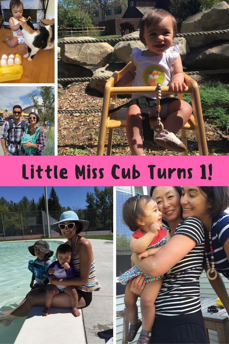 Little Miss Cub Turns 1!