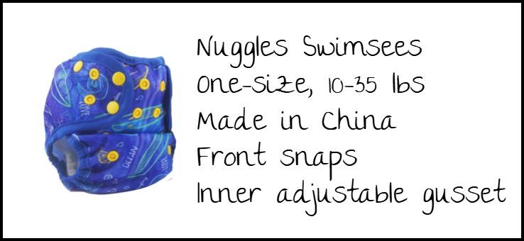 Nuggles Swimsees Specs
