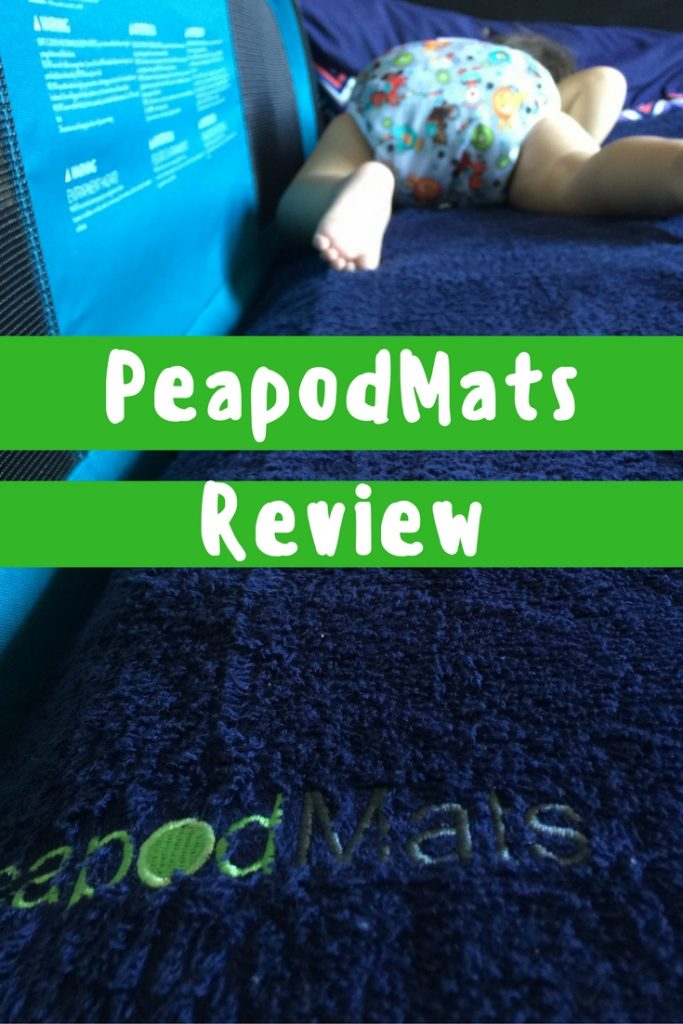 PeapodMats Review - a bedwetting and incontinence mat that's so much more!