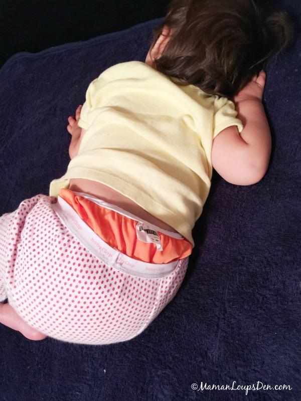 Sleeping on Peapod mat