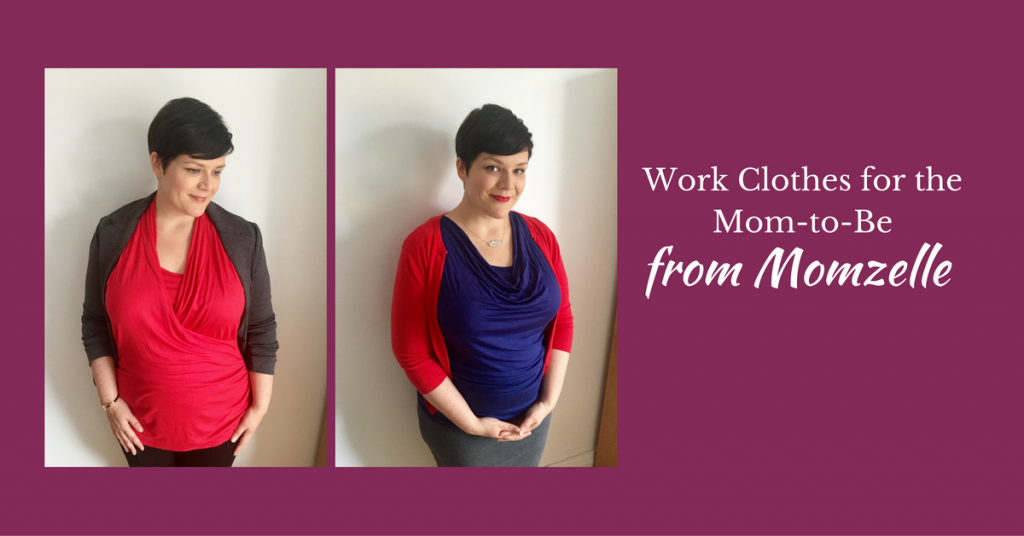 Work Clothes for Moms-to-Be from Momzelle