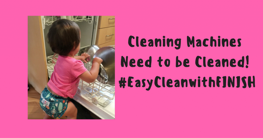 Cleaning Machines Need to Be Cleaned #EasyCleanwithFINISH