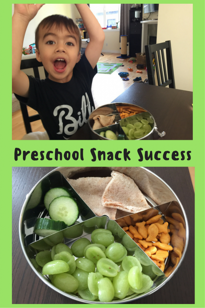 Preschool Snack Success
