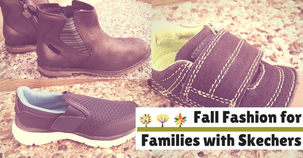 Fall Fashion for Families with Skechers