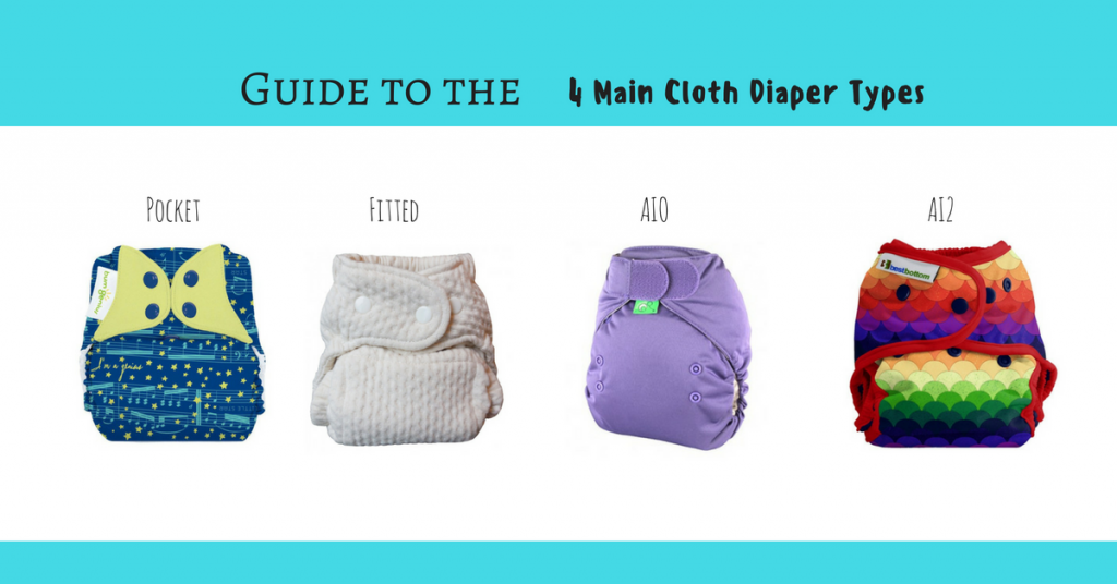 The Four Main Types of Cloth Diapers