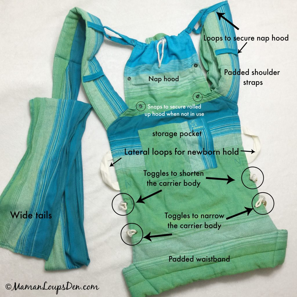 Chimparoo Mei Tai Fit Baby Carrier Review