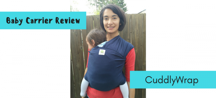 CuddlyWrap Review {+ Giveaway}