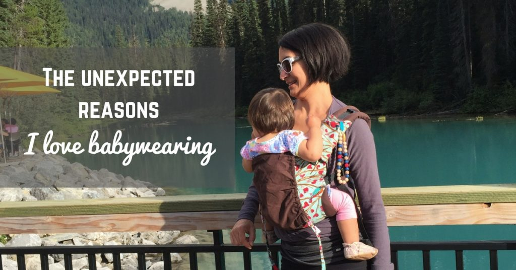 The Unexpected Reasons I Love Babywearing