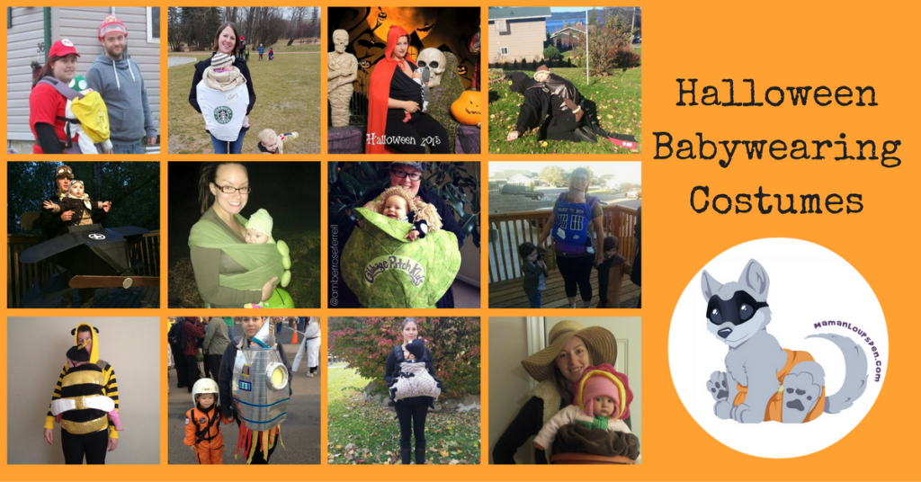 17 Halloween Babywearing Costume Ideas!