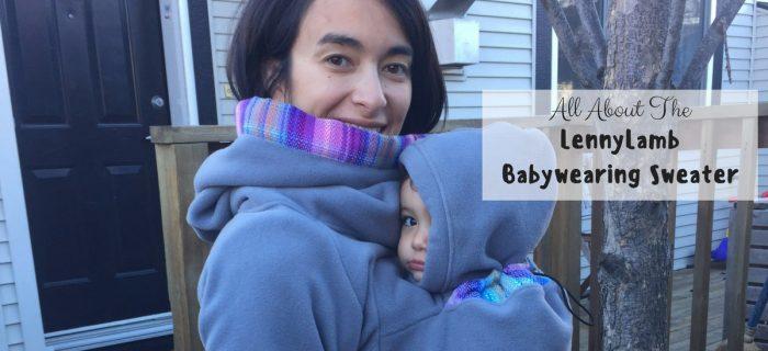 LennyLamb Babywearing Sweater Review