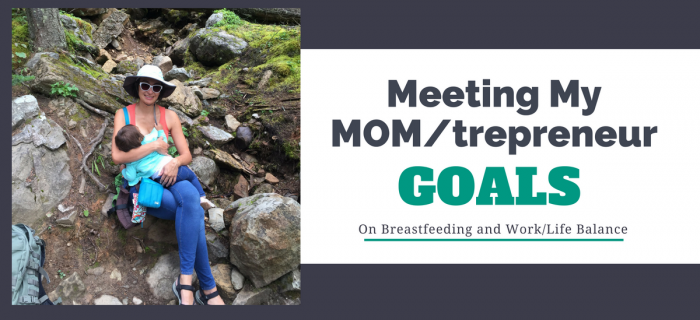 Meeting My Mom/trepreneur Goals With My Medela Freestyle