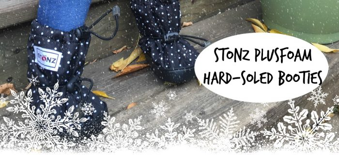 Stonz Mittz and Booties: For Baby's First (mobile) Winter