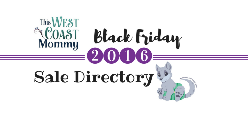 Mom & Baby 2016 Black Friday Sale Directory { + Caturday Giveaway}
