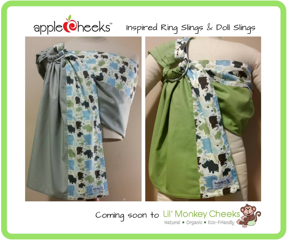 Holiday Gift Guide for Cloth Diapering Families: AppleCheeks Ring Slings