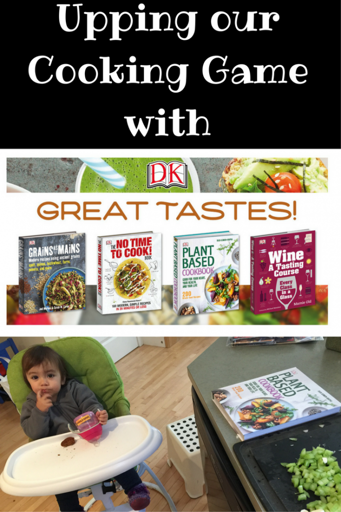 Upping Our Cooking Game with DK Recipe Books