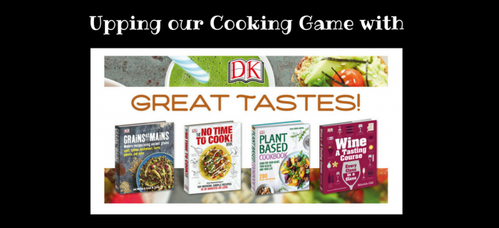Upping our Cooking Game with DK Books {+ $100-value Giveaway}