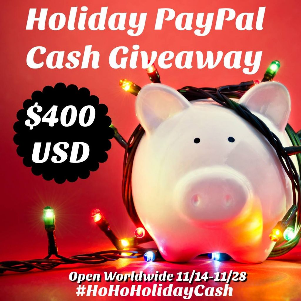 $400 Holiday PayPal Giveaway