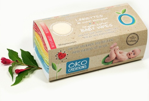 Holiday Gift Guide for Cloth Diapering Parents: Öko Wipes