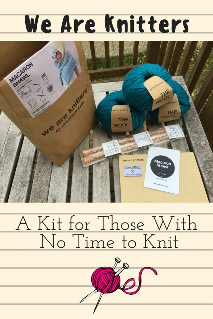 we are knitters review a kit for those with no time to knit. Black Bedroom Furniture Sets. Home Design Ideas