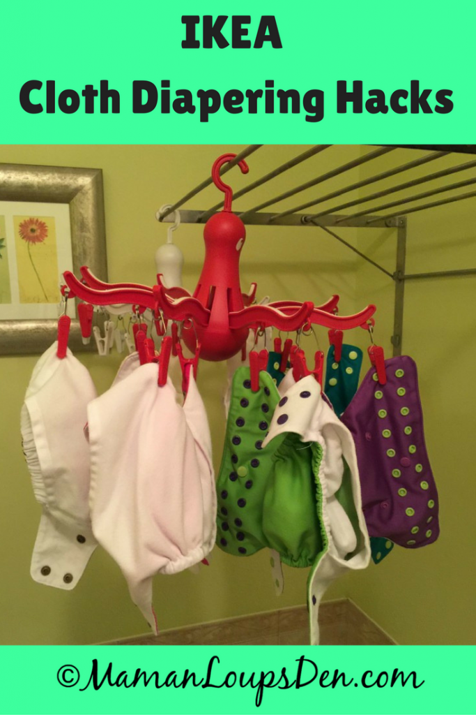 Ikea Cloth Diapering Hacks: Use items found at Ikea to save even more money cloth diapering!