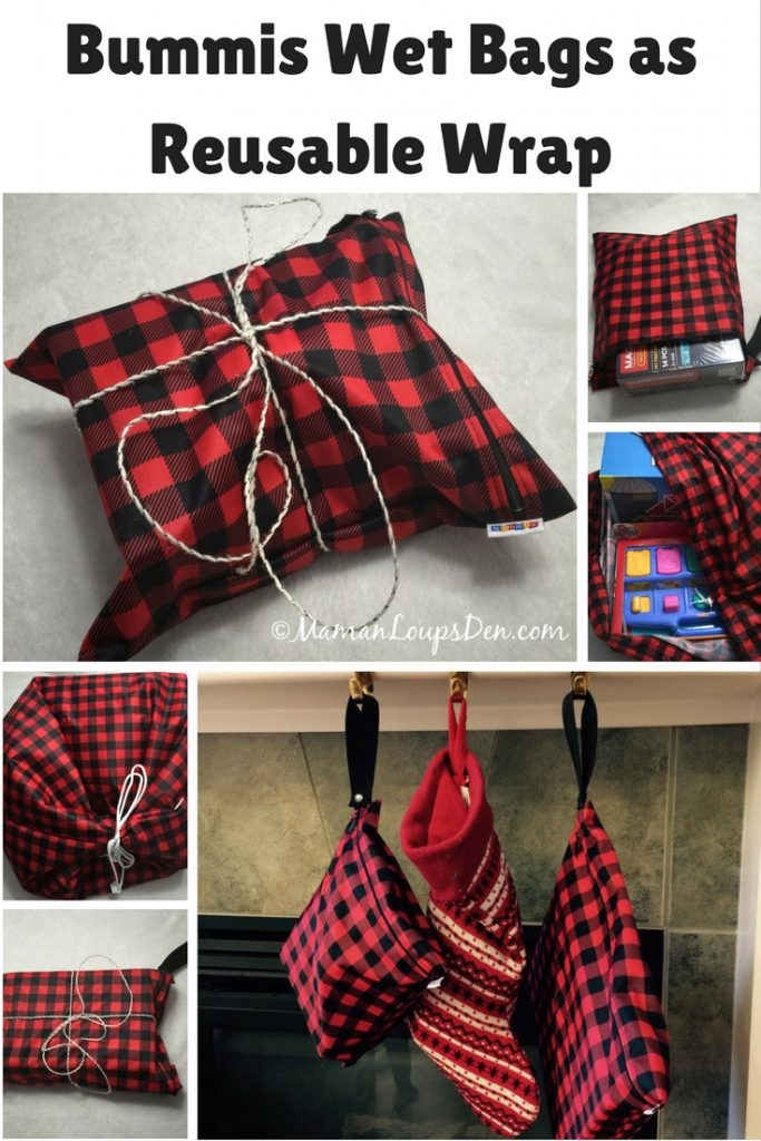Bummis Wet Bags as Reusable Wrap