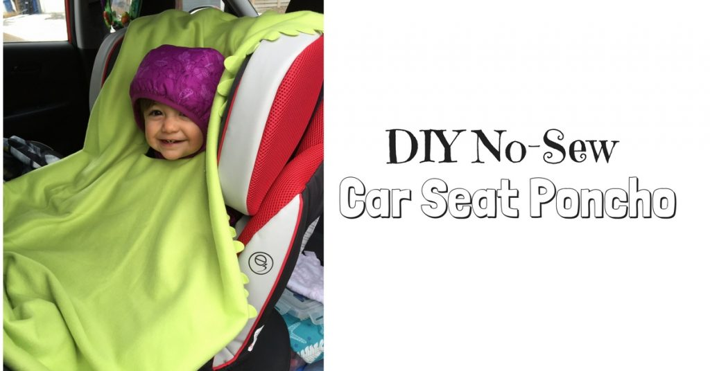 DIY No-Sew Car Seat Poncho