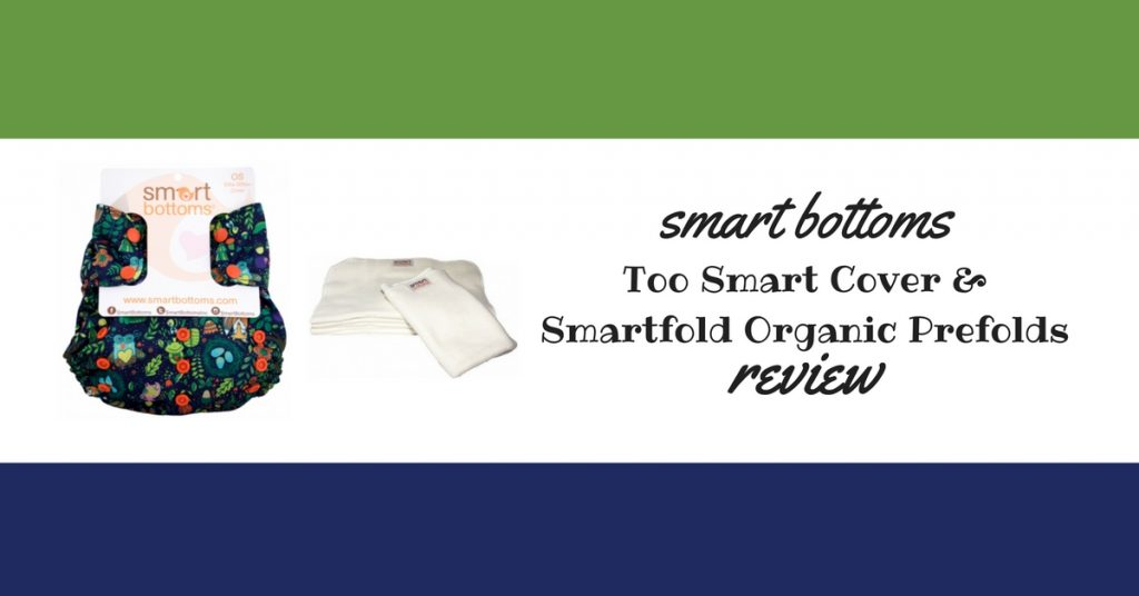 Smart Bottoms Too Smart Cover & Smartfold Prefold Review