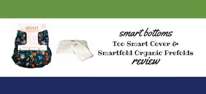 Smart Bottoms Too Smart Cover & Smartfold Prefold Review