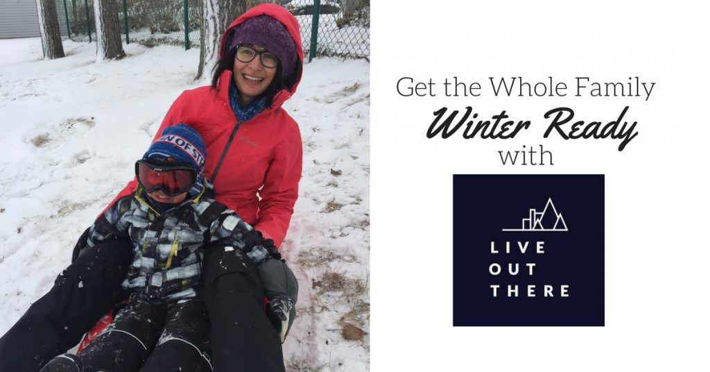 Get the Whole Family Winter Ready With Live Out There