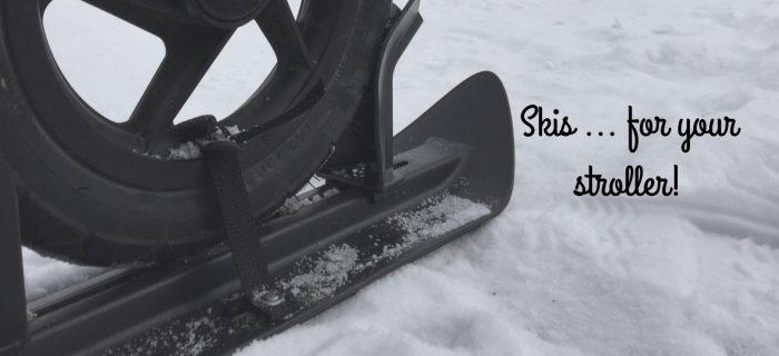 Premier Ski Stroller Skis Review {+ Giveaway}