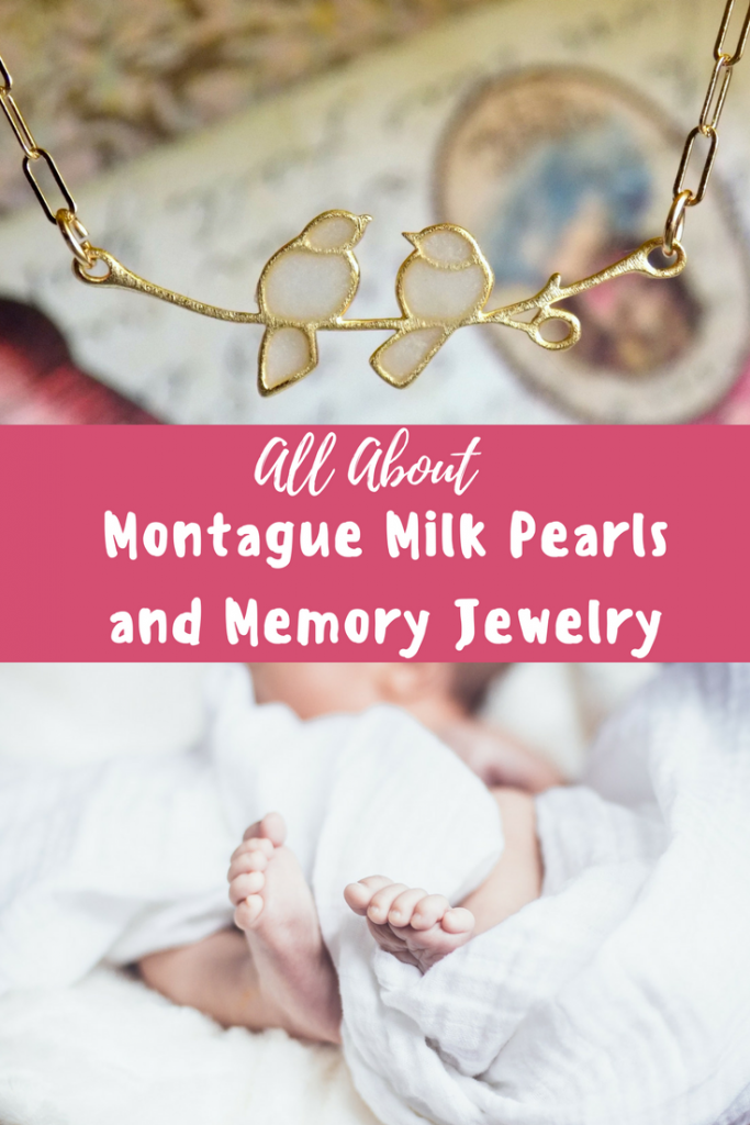 All About Montague Milk Pearls and Memory Jewelry
