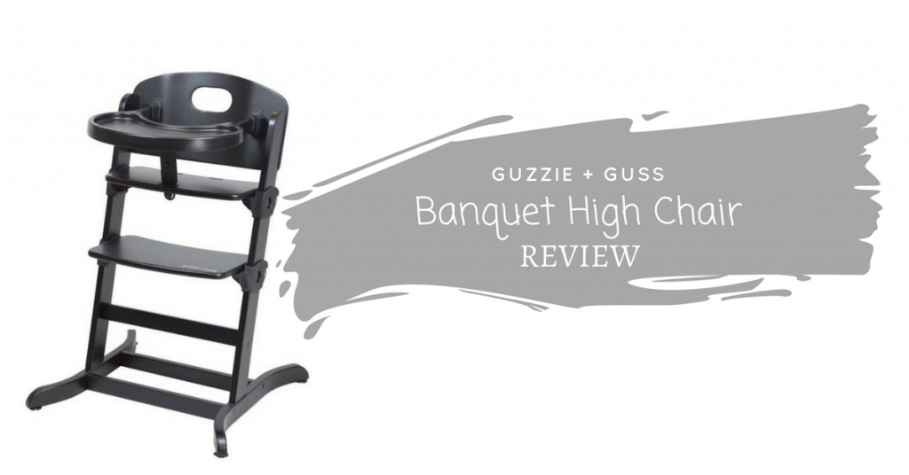 guzzie+Guss Banquet Wooden High Chair Review {+ giveaway}