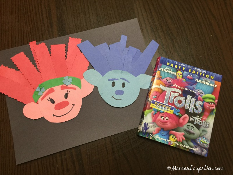 Trolls Family Movie Night Crafts