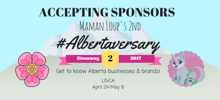 Maman Loup's 2nd #Albertaversary: Sponsor Sign Up