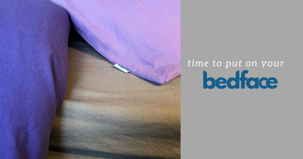 Time to put on your bedface! {+ 20% off coupon code}