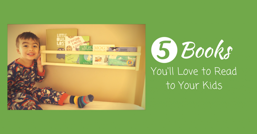 5 Books You'll Love to Read to Your Kids #PlaytexReads