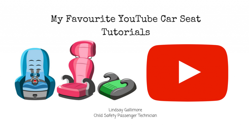My Favourite YouTube Car Seat Tutorials
