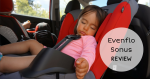 Evenflo Sonus Convertible Car Seat Review {+ a giveaway}