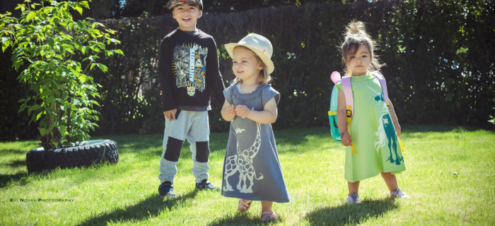 Wee Urban Dresses Rock our Wee World