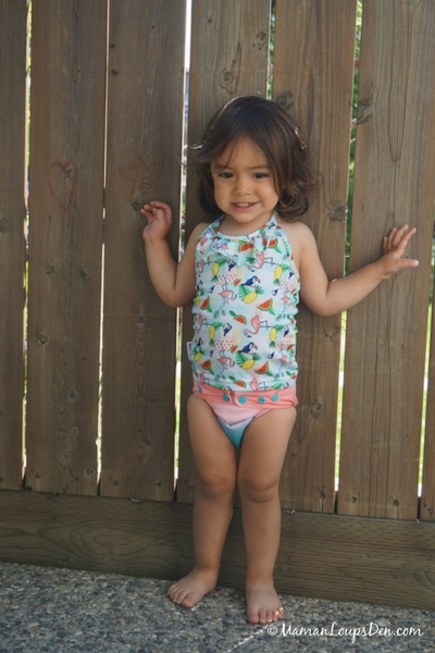 Funky Fluff One Size Swim Diaper Review