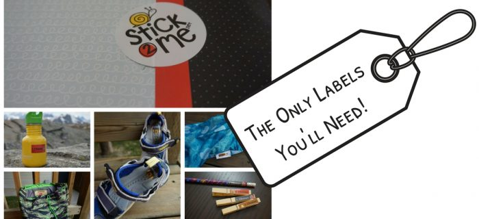 Stick2Me Labels: The Only Labels You'll Ever Need! {+ a giveaway}