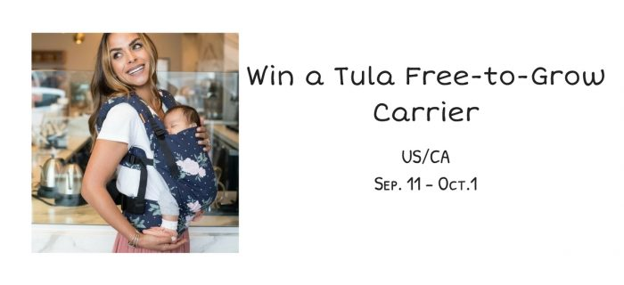 Tula Free-to-Grow Carrier Giveaway