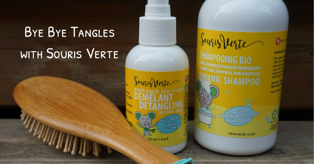 Souris Verte's Haircare Line: No More Tears, No More Tangles
