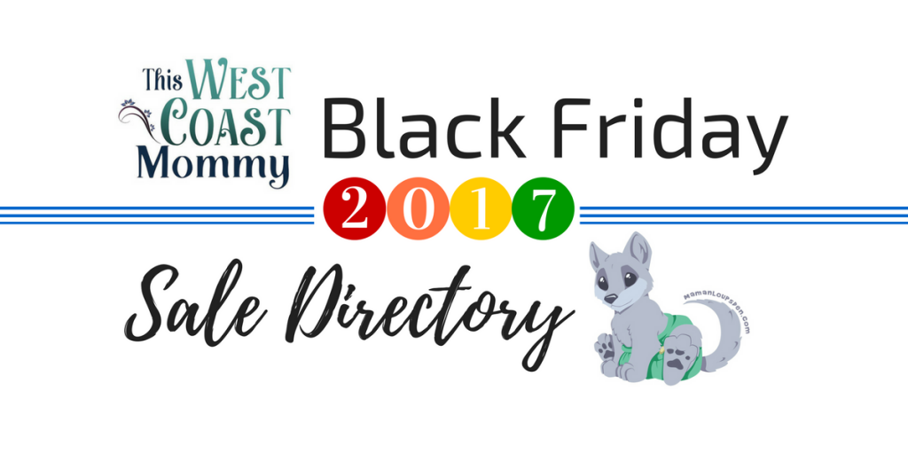 2017 Black Friday Sale Directory {+ ReWild Child giveaway}