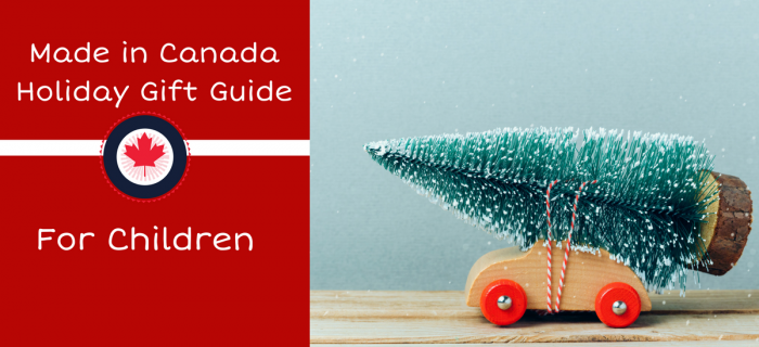 Made in Canada Children's Holiday Gift Guide {coupon codes + $100 PayPal Giveaway}