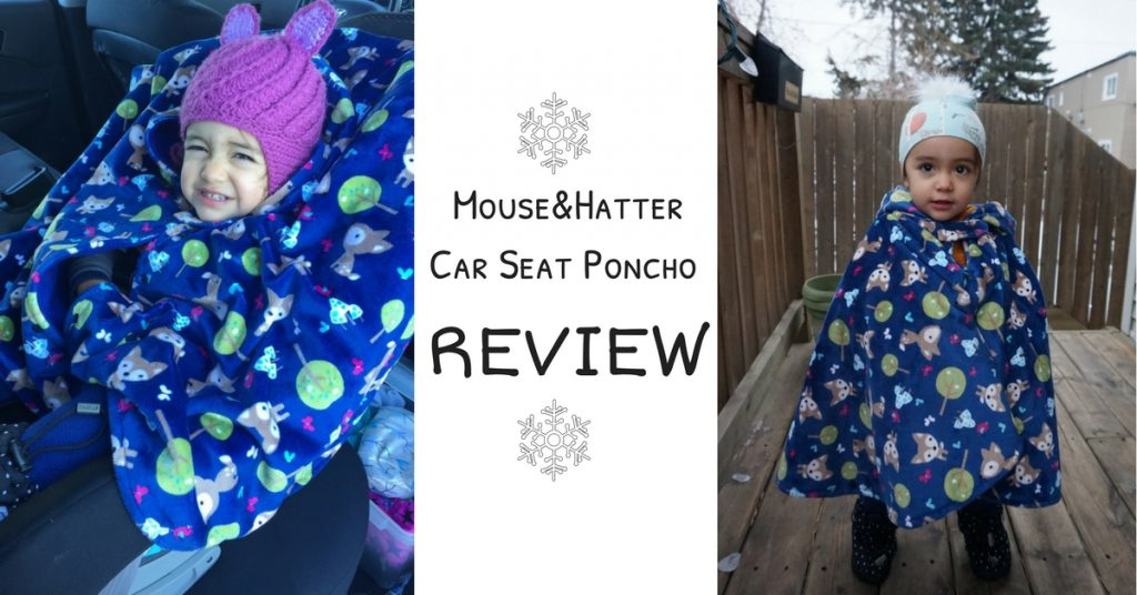 Mouse&Hatter Car Seat Poncho Review