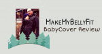 MakeMyBellyFit BabyCover Carrier Cover Review {+ Giveaway}
