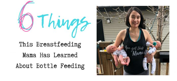 6 Things This Breastfeeding Mama Has Learned About Bottle Feeding